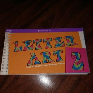 2006 American Girl letter art Designs to Draw #2